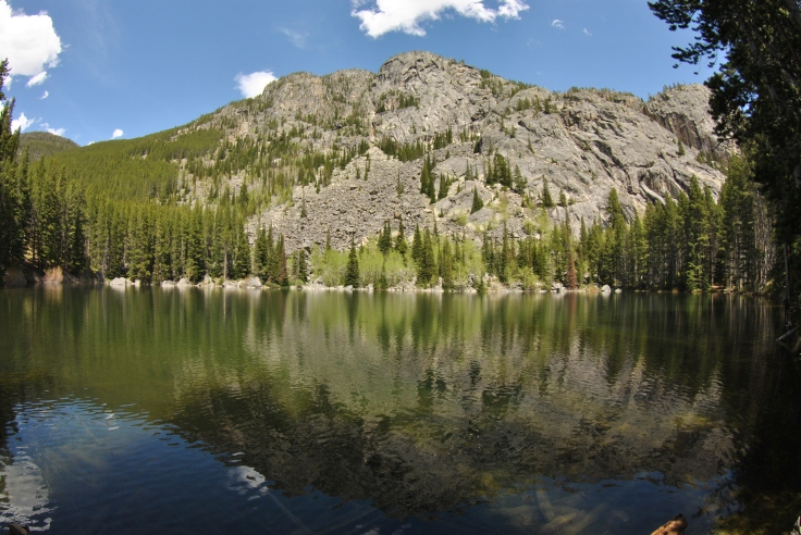 lake in the absaroka beartooth wilderness