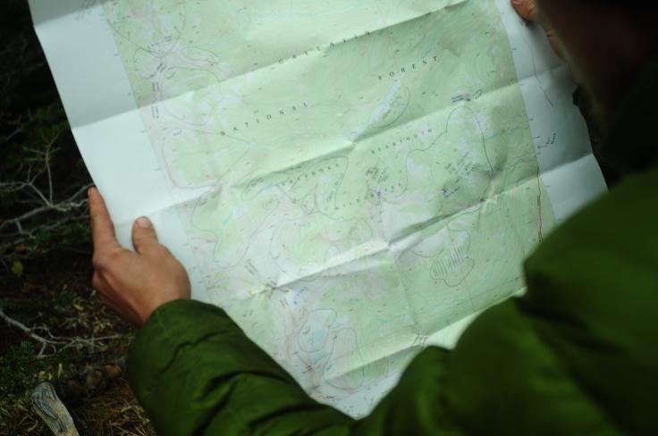 map study beartooth wilderness
